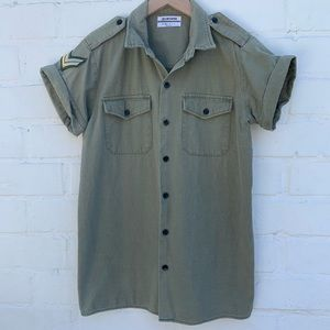 One Teaspoon Military Shirt